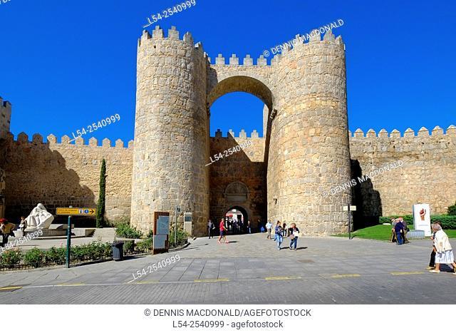Cathedral Avila Spain Castile-Léon Medieval