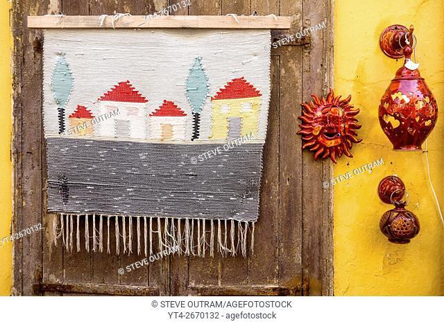 Touristic Souvenirs, Chania Old Town, Crete, Greece