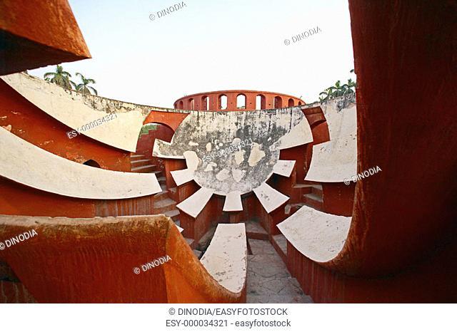 Jantar Mantar Observatory, Maharaja Jaisingh, New Delhi, India