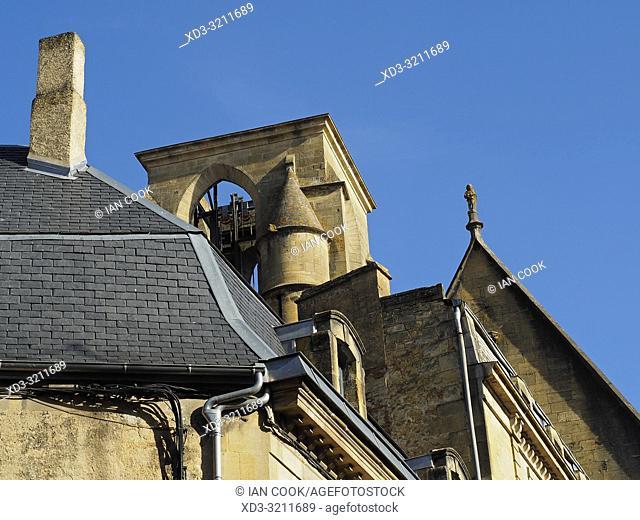 architectural detail, Sarlat-la-Caneda, Dordogne Department, Nouvelle-Aquitaine, France