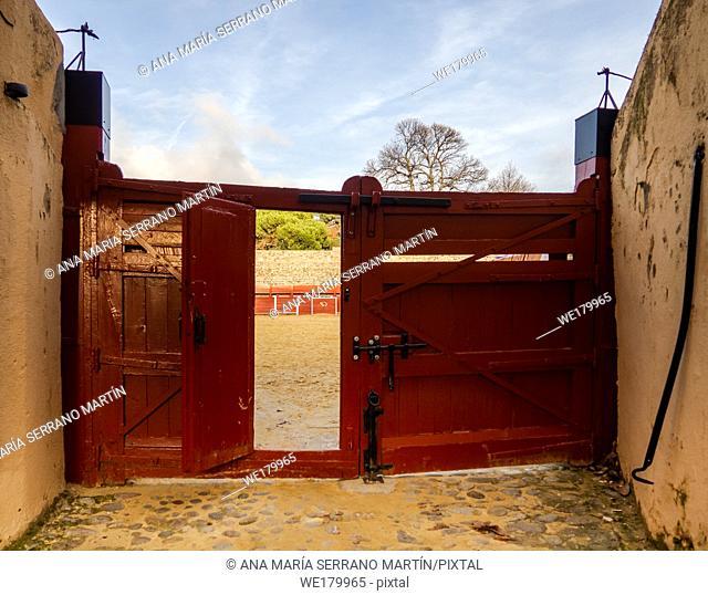 La Ancianita: Monument of the oldest bullring in the world in Bejar (Salamanca)