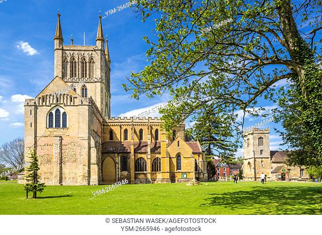 Pershore Abbey, Worcestershire, England, United Kingdom, Europe