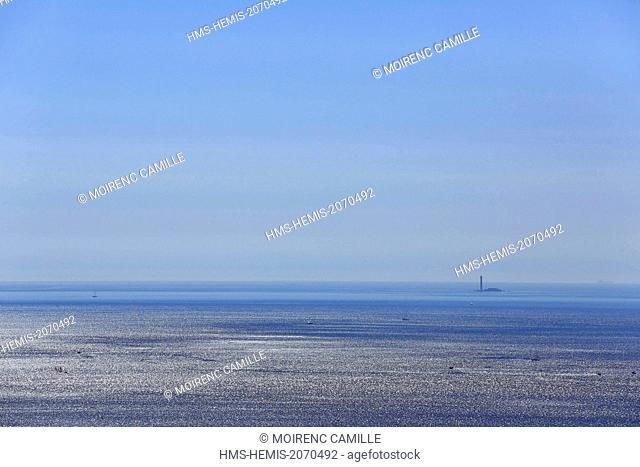 France, Bouches du Rhone, Marseille, Island Lighthouse Planier (71.6 m)