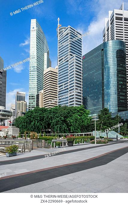 Downtown Central financial district, Singapore, Asia
