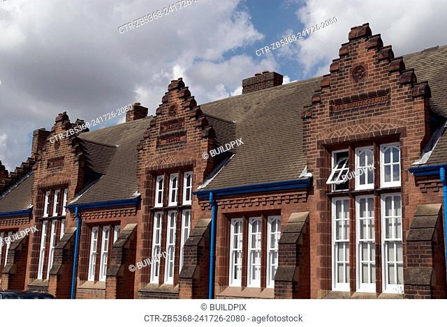 Victorian school building, Ipswich, UK