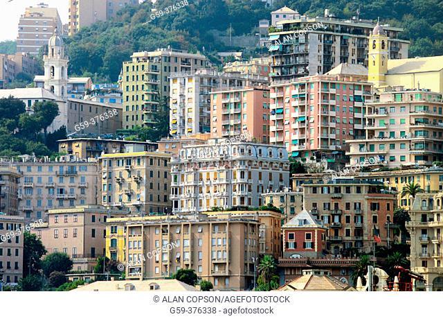 Italy. Liguria. Genoa (Genova)