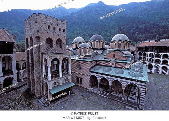 Rila Monastery. BULGARIA