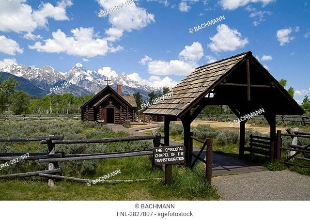 Episcopal Chapel, Rocky Mountains, USA