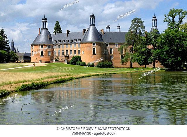 Castle of St Fargeau, Yonne, France