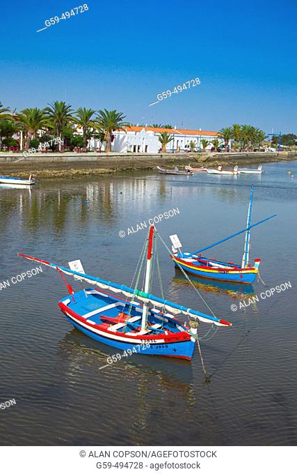 Portugal, Algarve, Tavira, Rio Gilao