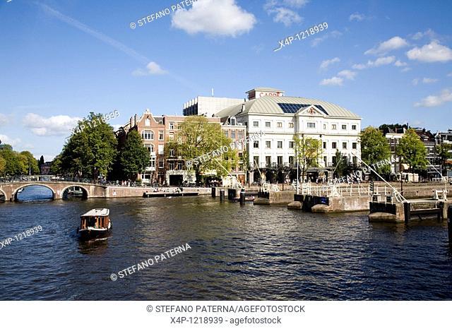 Amstel, Amstelsluizen, Carre, Amsterdam