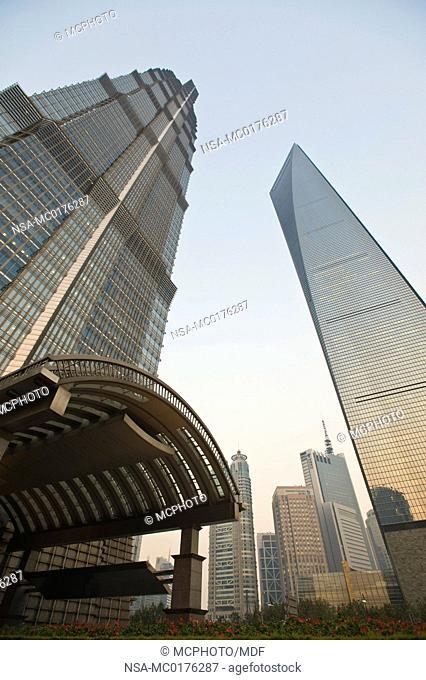 China, Shanghai. Jin Mao Tower Hyatt