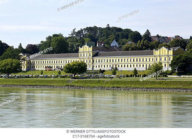 Ybbs an der Donau, Austria, Lower Austria, District Melk, Ybbs an der Donau in the Mostviertel, therapy centre, psychiatric hospital, house 2