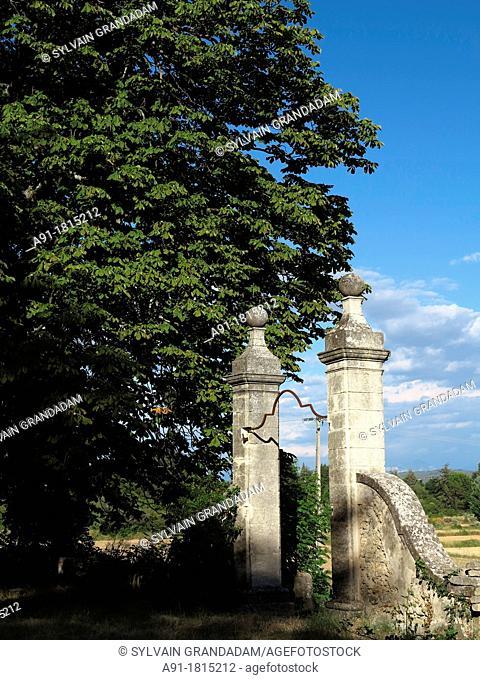 France, Provence, Alpes de Haute Provence 04, ville de Manosque, guest house Bastide de l'Adrech, owners Geraldine and Robert Le Bozec