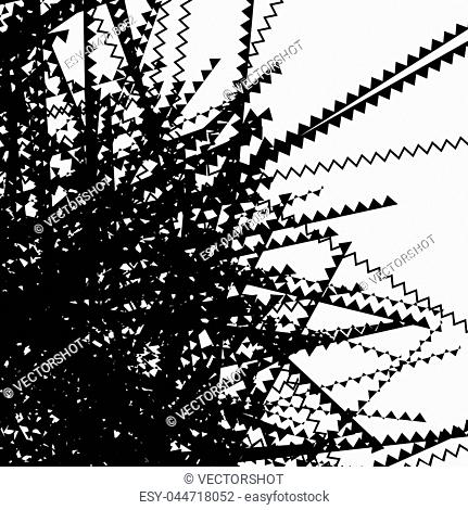 Abstract pattern of crisscrossing lines Stock Photos and