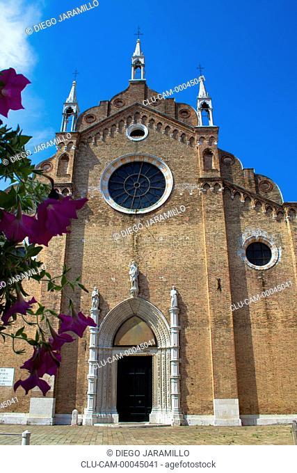 Basilica of Santa Maria dei Frari, San Polo, Venice, Veneto, Italy, Western Europe