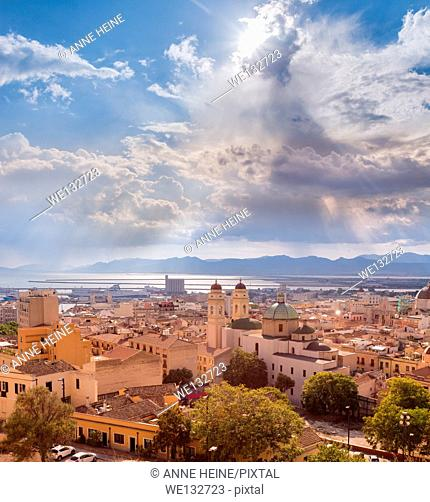 Cagliari- An ancient city with a long history. Sardinia, Italy,Europe