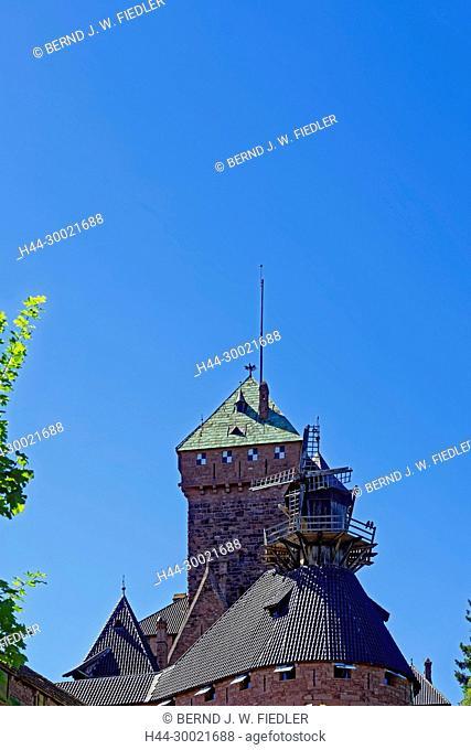 Château du Haut Königsbourg, Windmühle
