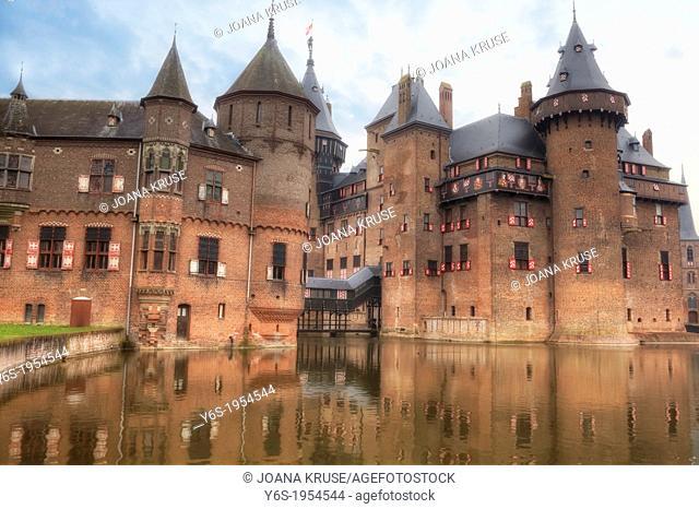 Castle De Haar, Haarzuilens, Utrecht, Netherlands