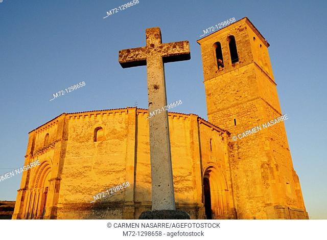 Church of Vera Cruz, Segovia, Castilla-Leon, Spain