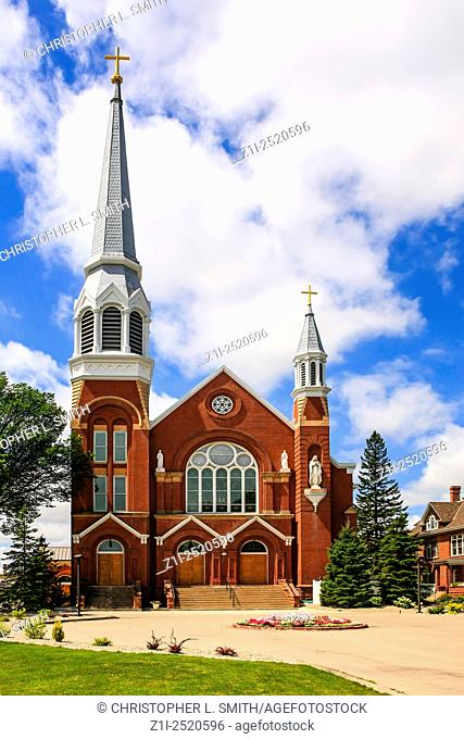 St. Mary's Cathedral building in Fargo, N. Dakota