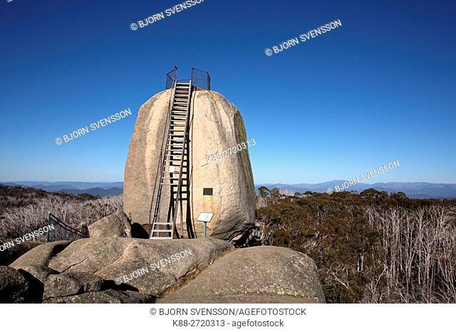 The Monolith in Mount Buffalo National Park. Victoria, Australia