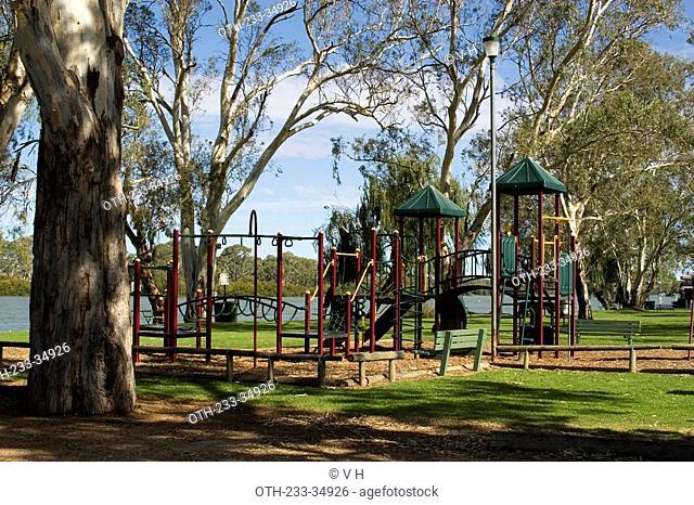 Playground at Mannum, Adelaide, South Australia