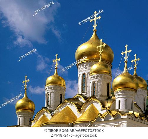 Russia, Moscow, Kremlin, Cathedral of the Annunciation