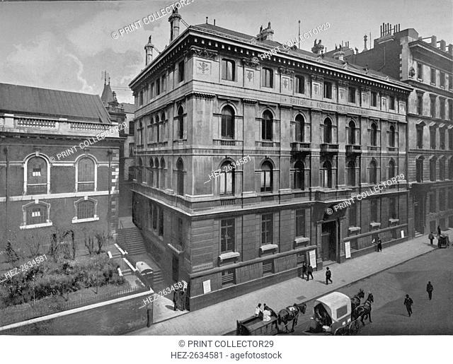 British and Foreign Bible Society House, City of London, c1890 (1911). Artist: Pictorial Agency