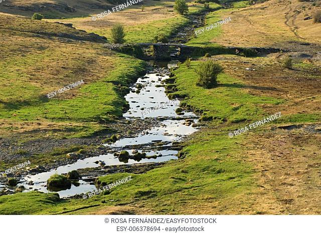 Zarzas River, Tejera Negra Natural Park, Cantalojas, province of Guadalajara, Castilla La Mancha, Spain