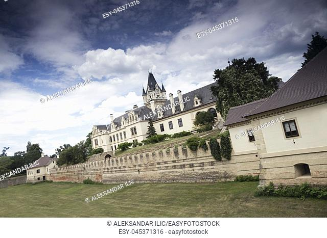 Grafenegg Castle in the Krems-Land district of Lower Austria