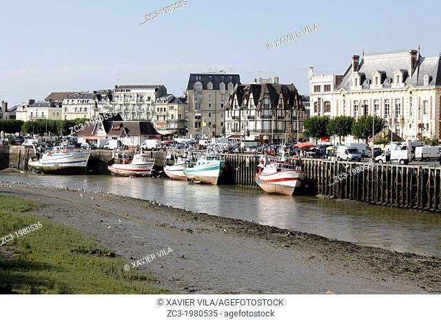 Trouville-sur-Mer, Seine-Maritime, Haute-Normandie, France