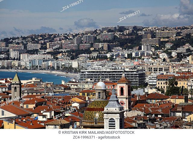 Cityscape Nice. French reviera. Cote D'azur