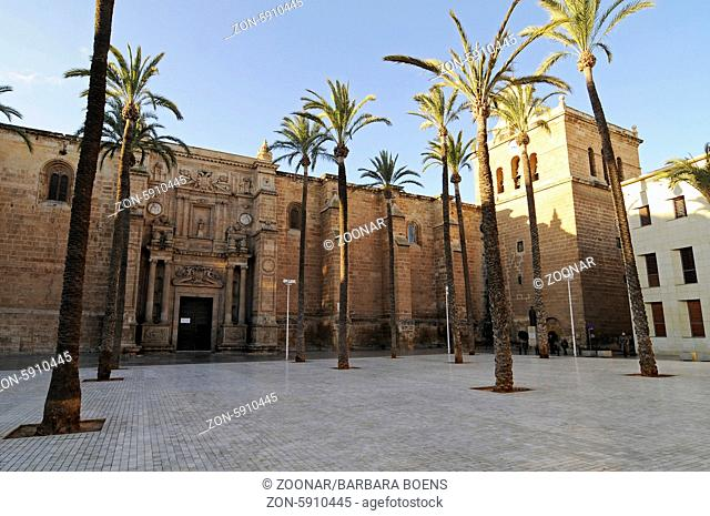 cathedral, Almeria, Andalusia, Spain, Europe, Kathedrale, Almeria, Andalusien, Spanien, Europa