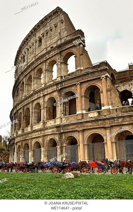 The Colosseum is the largest of the ancient Roman amphitheater built and the construction of the largest self-Roman antiquity  It is now one of the landmarks of...