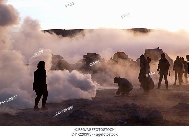 Ceiser Sol de Mañana. Uyuni. Bolivia