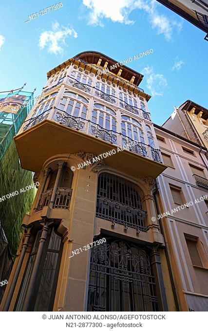 Pablo Monguio's Casa Ferran. Teruel, Aragón, Spain, Europe