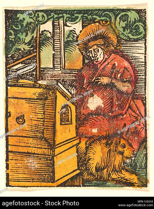 St. Mark (copy). Artist: After Hans Baldung (called Hans Baldung Grien) (German, Schwäbisch Gmünd (?) 1484/85-1545 Strasbourg (Strassburg)); Date: after 1512;...