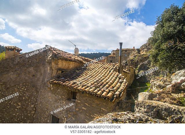 Ruins of house. Chaorna, Soria province, Castilla Leon, Spain
