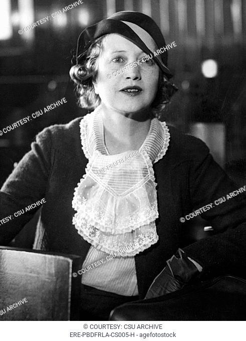Francine Larrimore, circa 1933