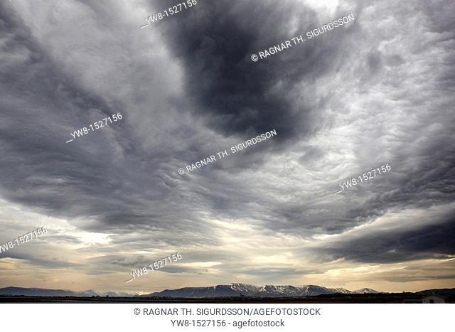 Overcast Sky, Iceland