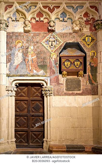 Chapel of Santa Maria or fo The Sastres, Cathedral, Tarragona City, Catalonia, Spain, Europe