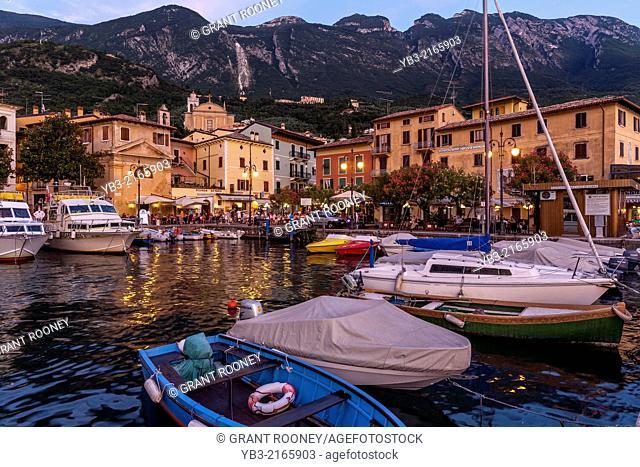 The Harbour, Malcesine, Lake Garda, Italy