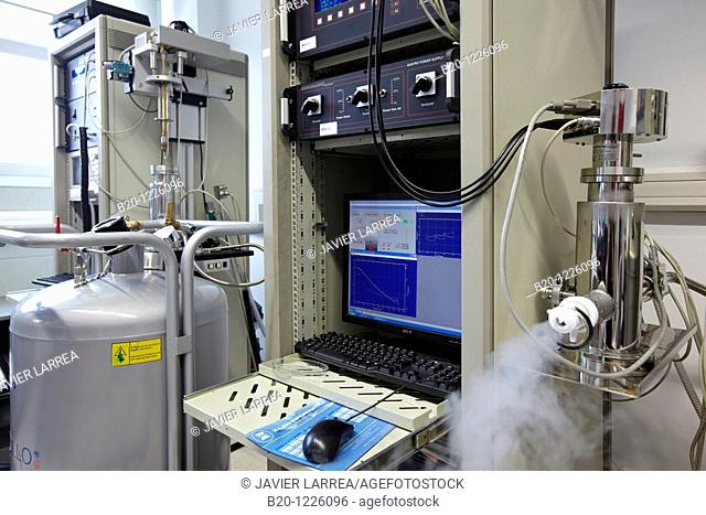 Dielectric spectroscopy laboratory, Materials Physics Center is a joint center of the Spanish Scientific Research Council CSIC and the University of the Basque...