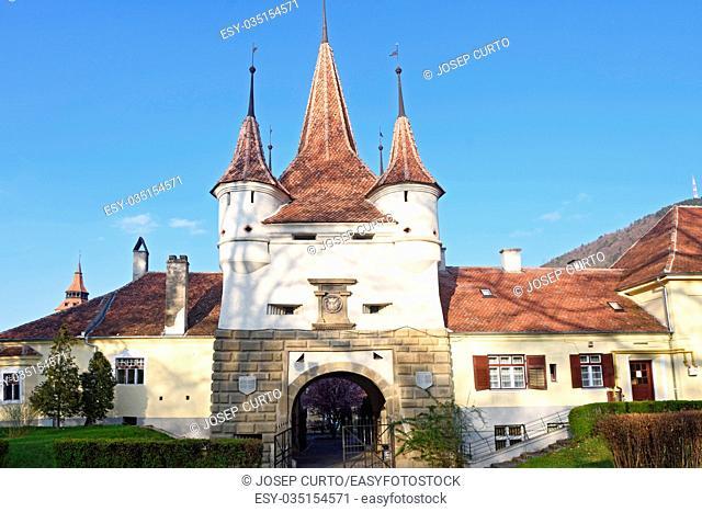 Ecaterinei Gate to the Brasov Medieval City, Romania