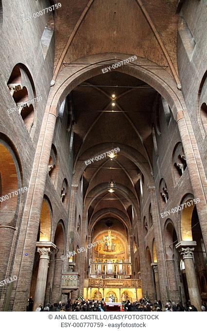 Cathedral Modena Indoor Emilia Romagna Italy