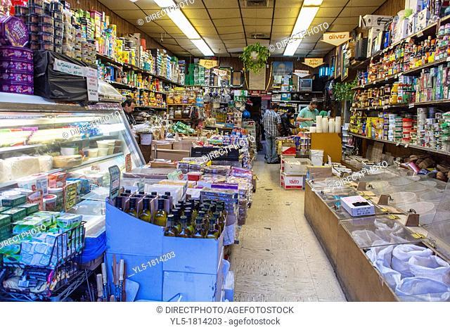 New York City, NY, USA, Brooklyn, Inside Arabian Food, Convenience Store