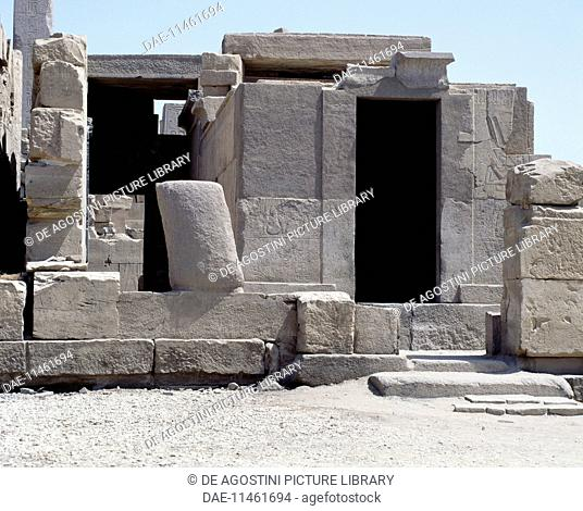 Sanctuary of the sacred boat of Amon Ra, Temple of Amun, Karnak, Luxor, Thebes (Unesco World Heritage List, 1979), Egypt