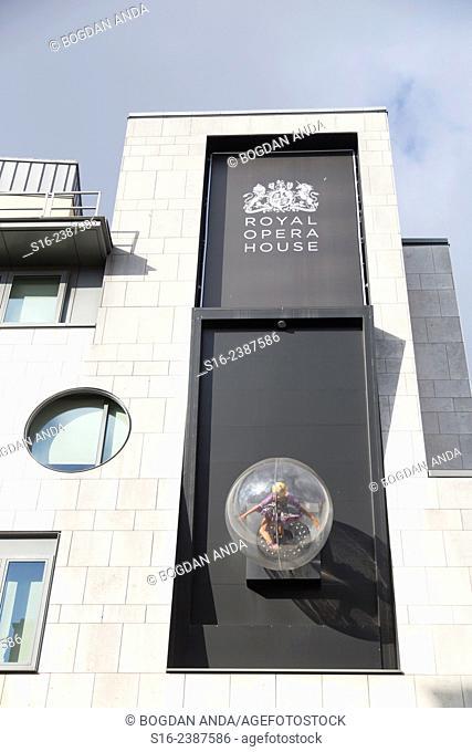 London, UK, Covent Garden - Royal Opera House Façade