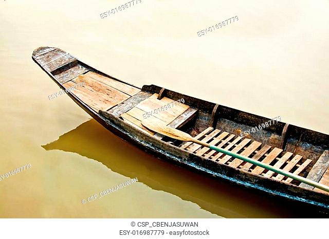 The Old boat in thailand